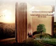 """""""Pamięć i polityka w literaturze polskiej XIX i XX wieku"""""""